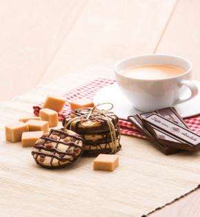 Toffee chocolade koek